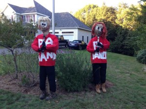 Mary and Michelle Scarecrows 2013